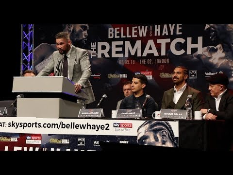 HOSTILE! - TONY BELLEW v DAVID HAYE 2 - *FULL & UNCUT* LIVERPOOL PRESS CONFERENCE / BELLEW-HAYE