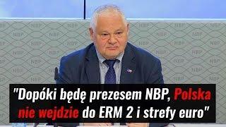 FLASH #39: Prezes NBP o przystąpieniu do ERM2 i strefy euro
