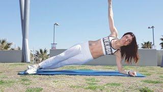 אימון 5 דקות לבטן שטוחה   אירה דולפין