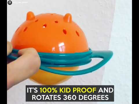 Gyro Bowl Baby 360 No Spill Funny Toddler (Link in Description)