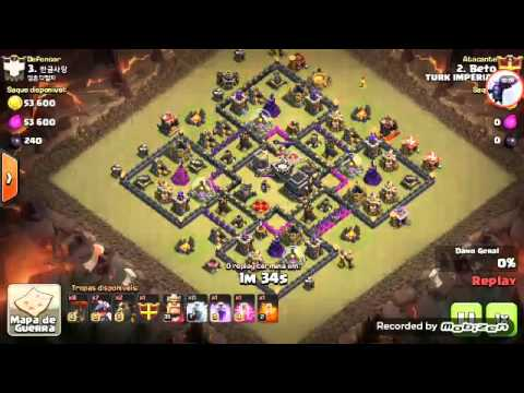 Primeiro video do canal TURK IMPERIAL COC
