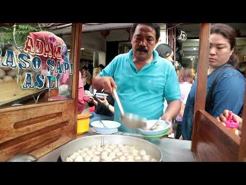 2 JAM LUDES!!! BELUM BUKA SUDAH RAMAI!!! BAKSO ADAM PANCORAN GLODOK - Indonesian Street Food