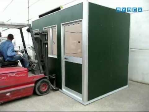 box ufficio monoblocco con bagno