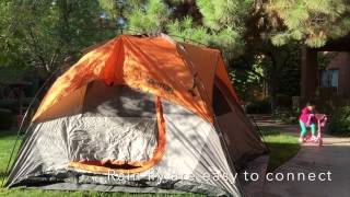 Coleman Instant Dome 7 & Discount Coleman 7u2032 x 7u2032 Sundome 3 Person Tent only $49.05 + ...