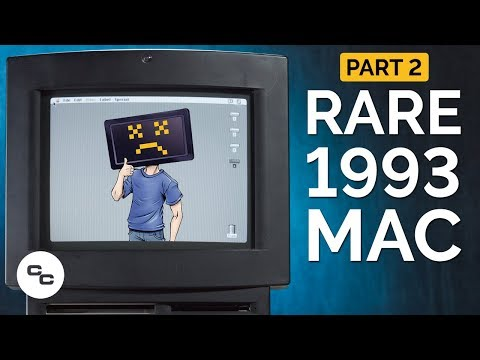 Rare 1993 Macintosh TV Exploration (Part 2) - Krazy Ken's Te