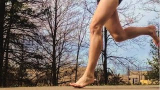 Forefoot Running May Be Better for Fallen Arches