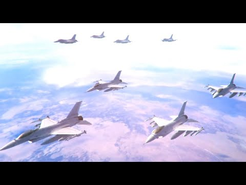 Rafael Advanced Defense Systems - Air Electronic Warfare Suite Combat Simulation [1080p]