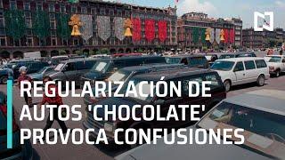 Censo de autos chocolates en Baja California causa confusiones - En Punto