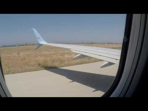 [2.7k] Tuifly SE-RFU Rhodes - Malmo BLX326 Full Flight | Outside view & wing view