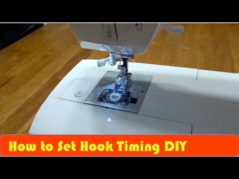 Fix / Repair Singer Sewing Machine Hook Timing - YouTube