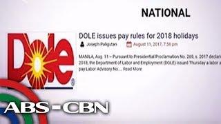 TV Patrol: Philippine News Agency, nasita ang mga mali sa Kamara