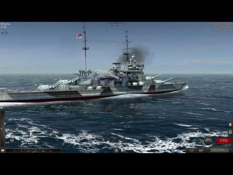 Atlantic Fleet HMS Barham vs dkm admiral graf spee