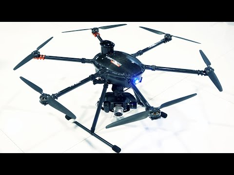 Yuneec Tornado H920 Drone with 18x Optical Zoom at NAB 2015