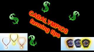 CABALYMPICS - tips for farming bronze, silver and gold badges