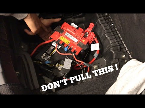 How To Replace & Reset A BMW Battery