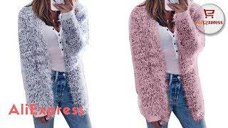 Clothing from AliExpress. Long Cardigan Women 2018 Spring Autumn Sweater Women.