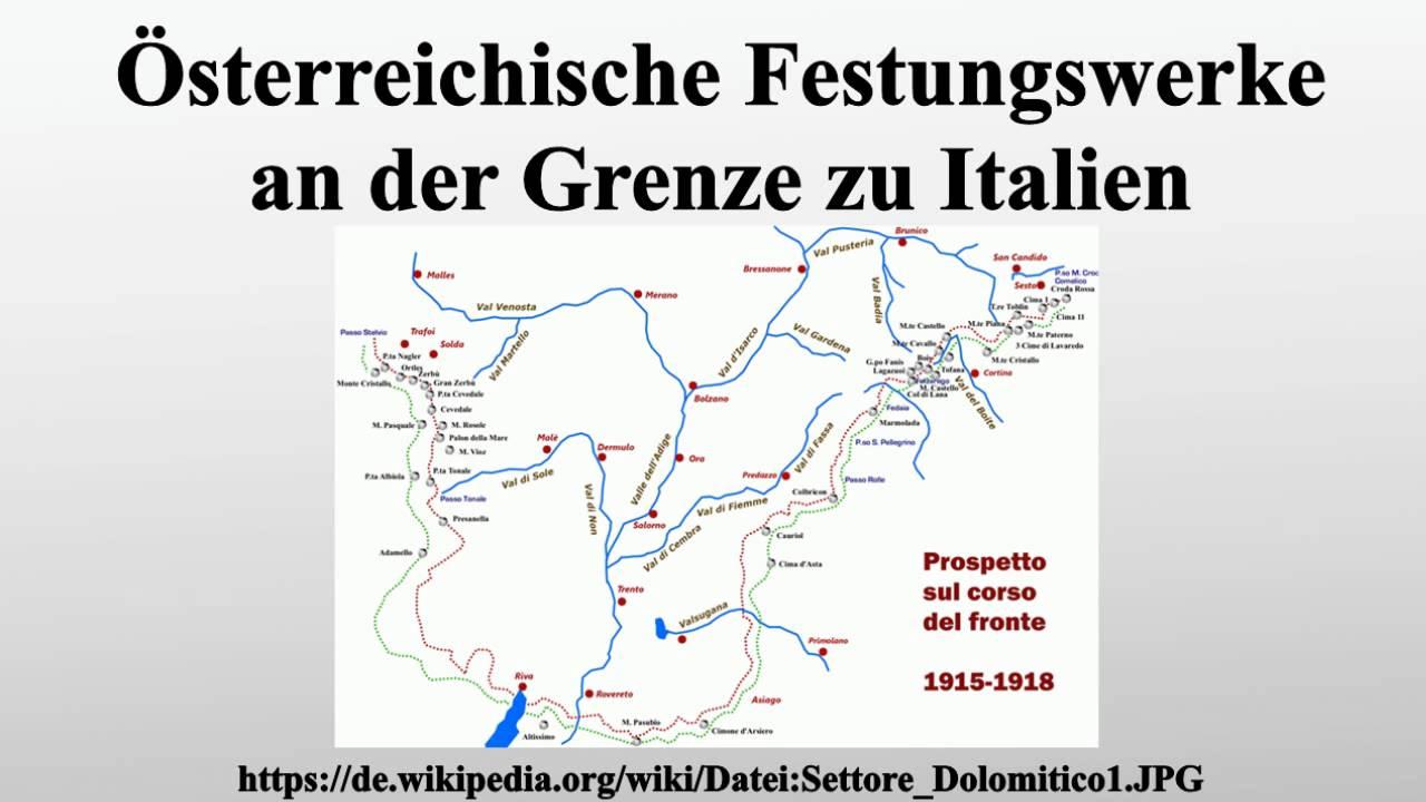 Italien Grenze