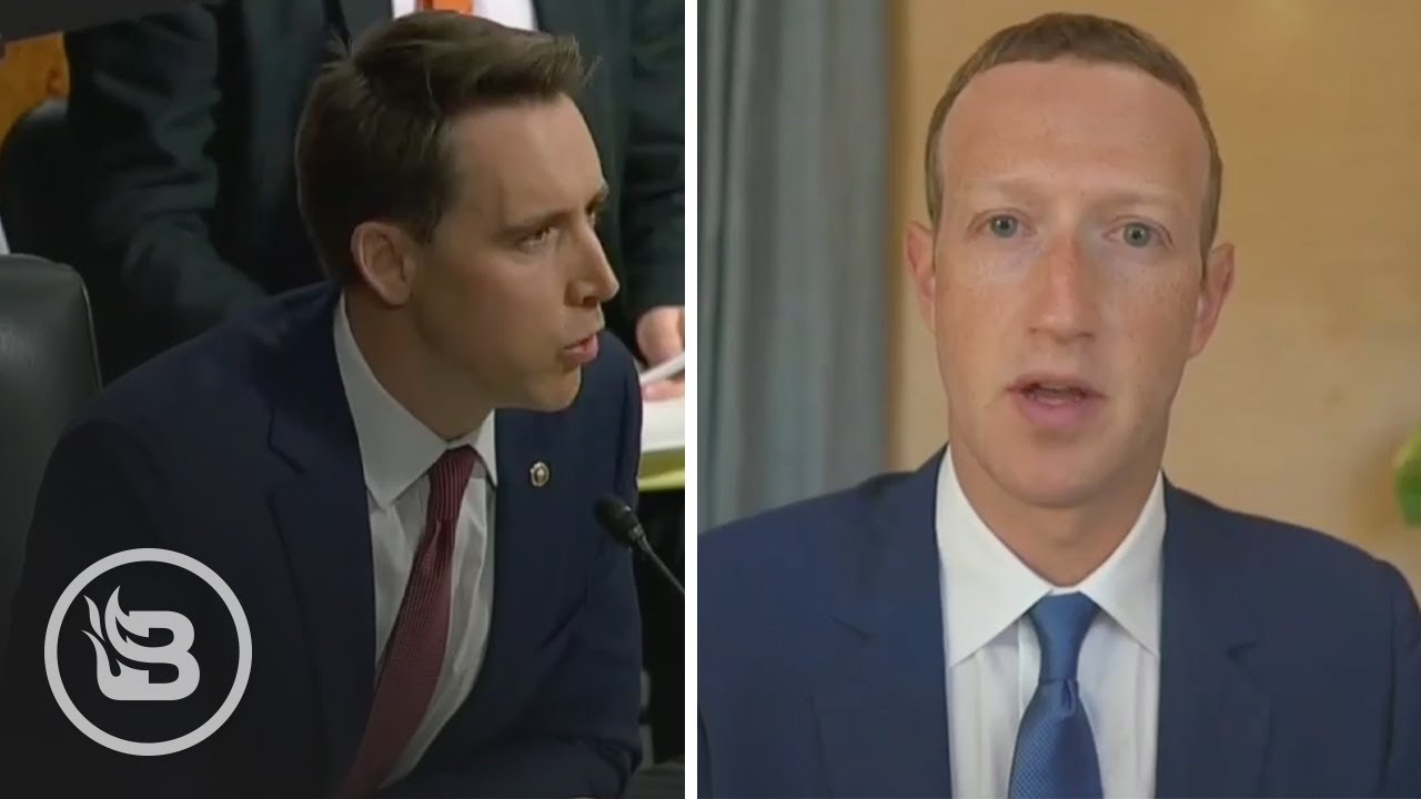 Sen. Hawley Reveals Secret Info From FB Whistleblower That Leaves Zuckerberg SPEECHLESS