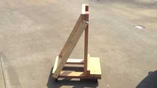 Building An Easy Outboard Motor Stand \ Cart