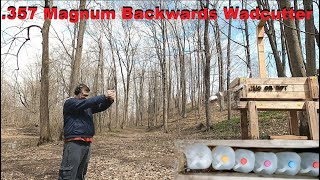 .357 Mag Backwards Wadcutter