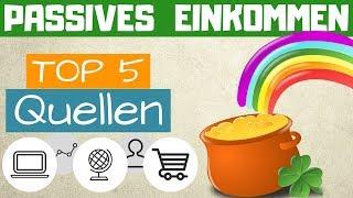 ►PASSIVES EINKOMMEN AUFBAUEN -  Meine Top 5 passiven Einkommensquellen