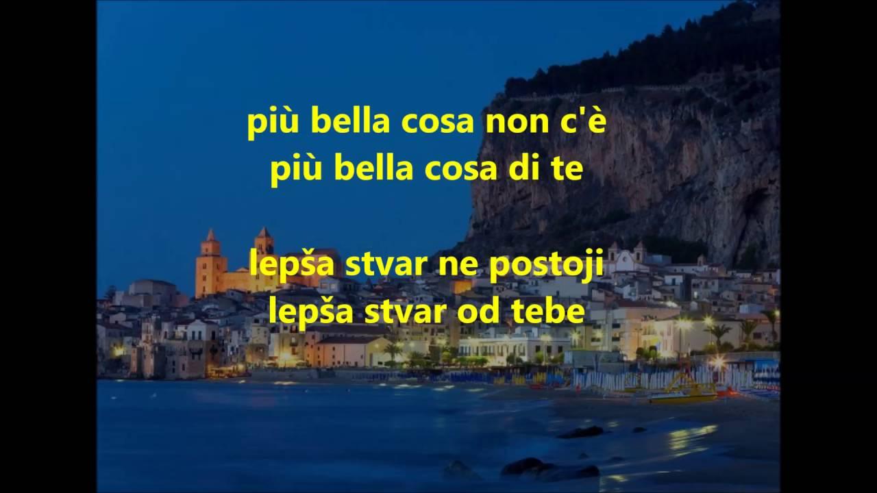 Eros Ramazzotti Piu Bella Cosa Prevod Na Srpski