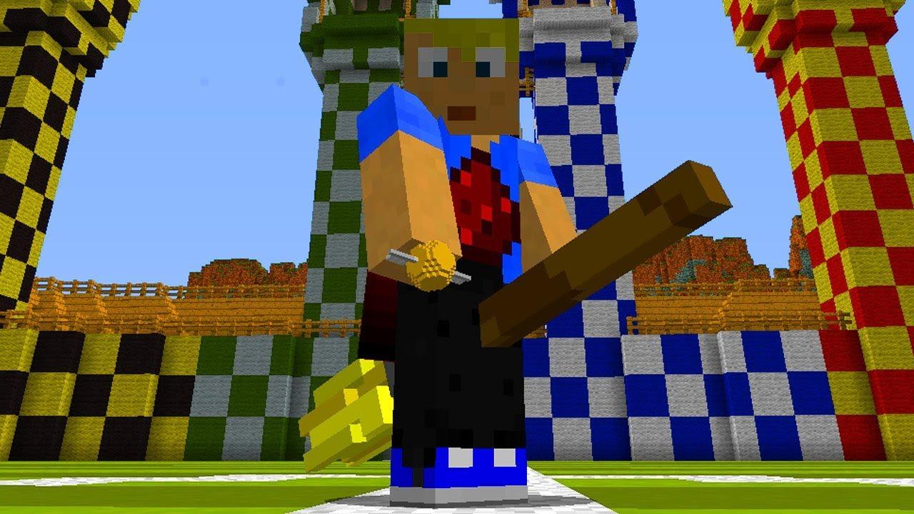 Mega Gut Umgesetztes Quidditch Aus Harry Potter In Minecraft Youtube