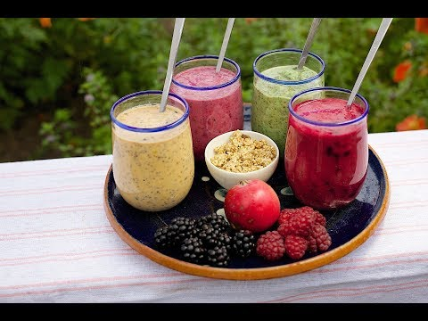 Healthy Smoothies: Spinach Pineapple And Blueberry #Weight Loss Smoothies
