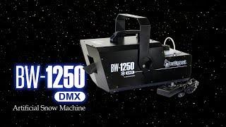 BW 1250 الثلج الاصطناعي آلة