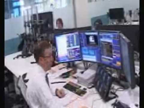 VTB Capital Bank Trading Floor - Multi screen trading environment