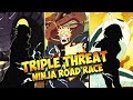 ** TRIPLE THREAT NINJA ROAD RACE **   ** Naruto Ultimate Ninja Blazing *
