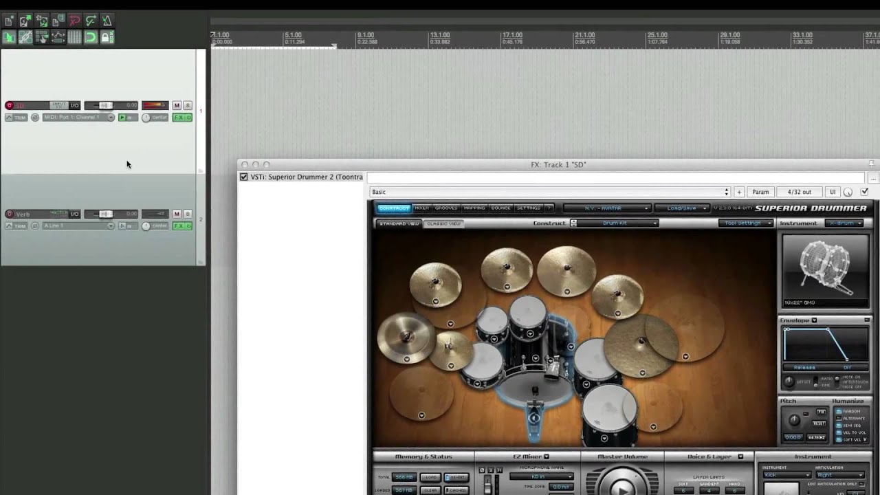 Superior drummer 2 explained® groove3 video tutorial.