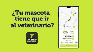 ¿Tu mascota tiene que ir al veterinario? | App Taxis Libres