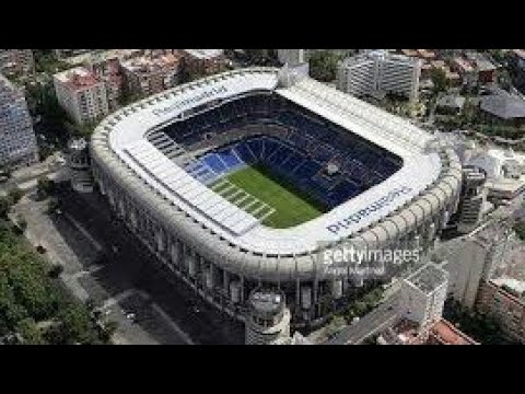 Virtual Stadium Tour Bernabeu