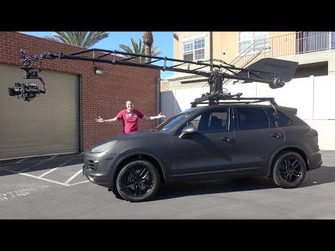 Этот Porsche Cayenne - специальная киносъёмочная машина за $500 000