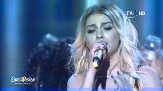 Recital JO - Pana vara viitoare &amp Mesajul meu Semifinala Eurovision Romania 2016