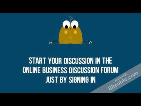 Global Online Business Discussion Forum