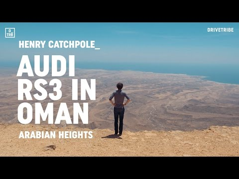 GREATEST ROADS | Discovering Oman in the 394bhp Audi RS3 saloon