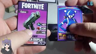 Comparing Fortnite Cards!
