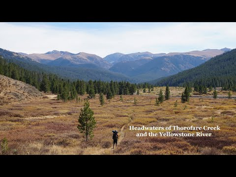 Backpacking The Greater Yellowstone: Thorofare Creek/Yellowstone River Headwaters Full Video