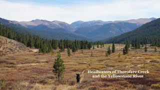 Backpacking The Greater Yellowstone: Thorofare Creek/Yellowstone River Headwaters Full Video