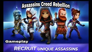 Assassin's Creed Rebellion latest mobile game | gameplay | by author of gamers