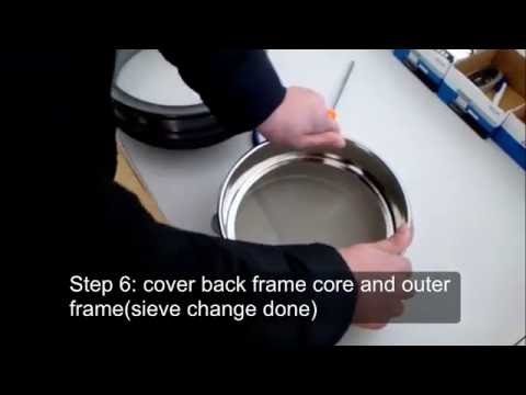 Lab Sieve Cloth Replacement