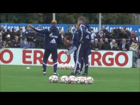 Roberto Di Matteo: 1. Training auf Schalke