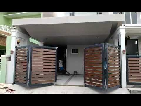 Wwwsmartmoveph Sf500 Folding Type Automatic Gate Youtube