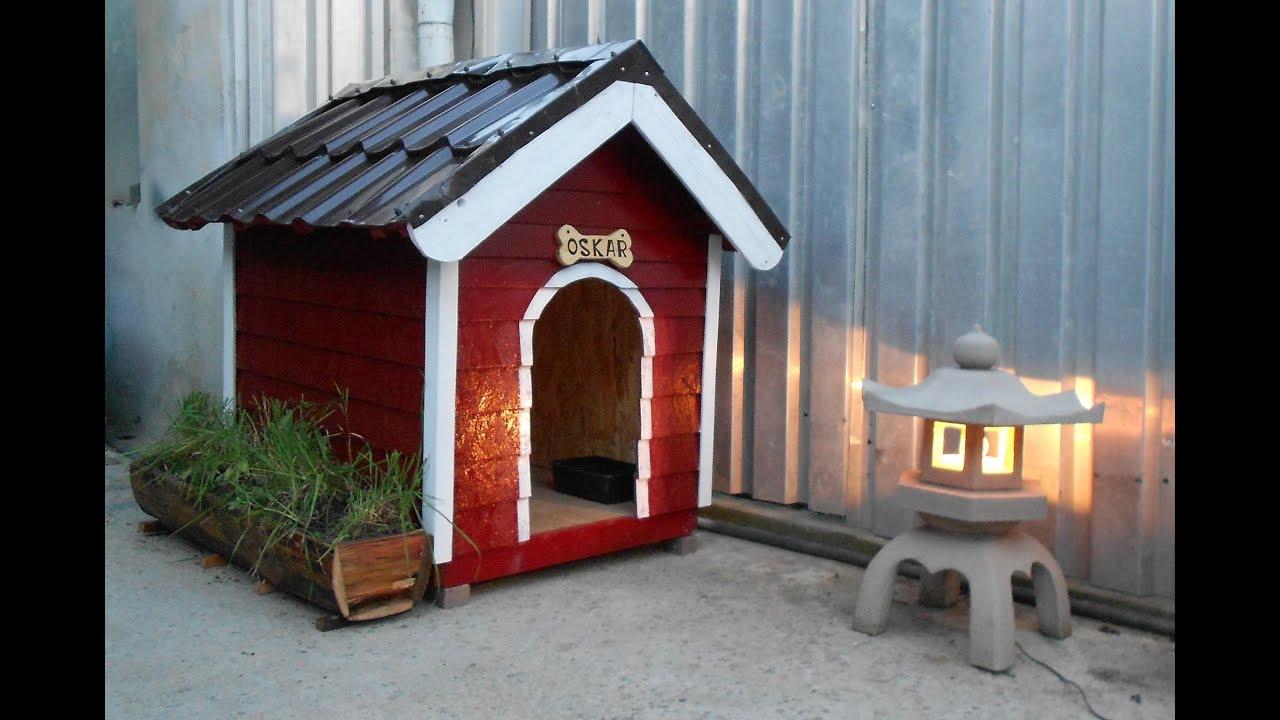 Make A Cardboard Dog Kennel
