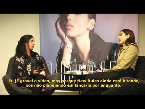 Dua Lipa Talking About IDGAF Music Video