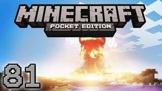 minecraft pe sono esploso in aria a caso 81
