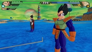 Repeat youtube video Vegeta and king Vegeta Fusion into the Ultimate Vegeta (DBZ Budokai Tenkaichi 3 Fusion mod)