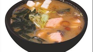 Японский суп быстрого приготовления